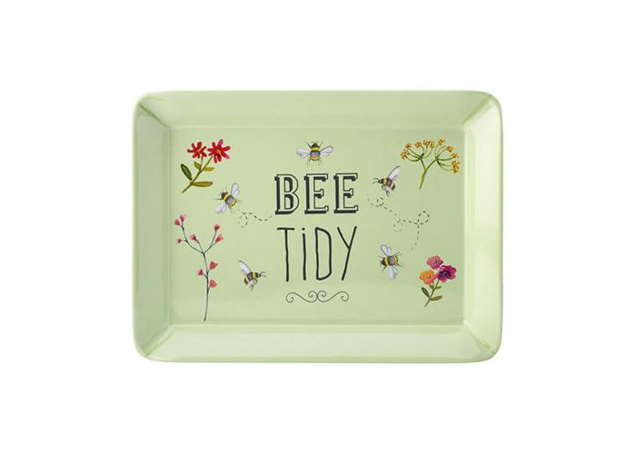 English Tableware Company Bee Happy 'Bee Tidy' Melamine Scatter Tray - 1