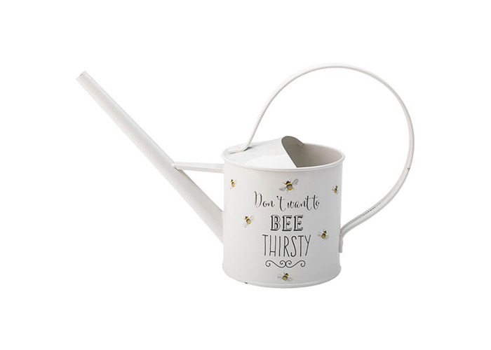 English Tableware Company Bee Happy Painted Steel Watering Can - 1