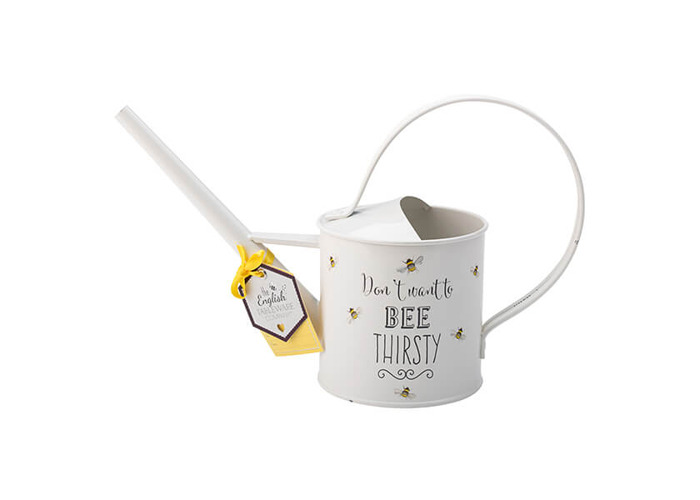 English Tableware Company Bee Happy Painted Steel Watering Can - 2