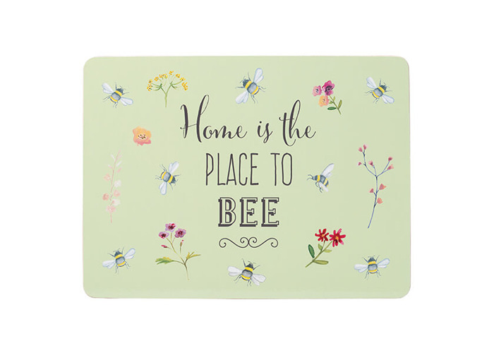 English Tableware Company Bee Happy Set of 4 Placemats - 2