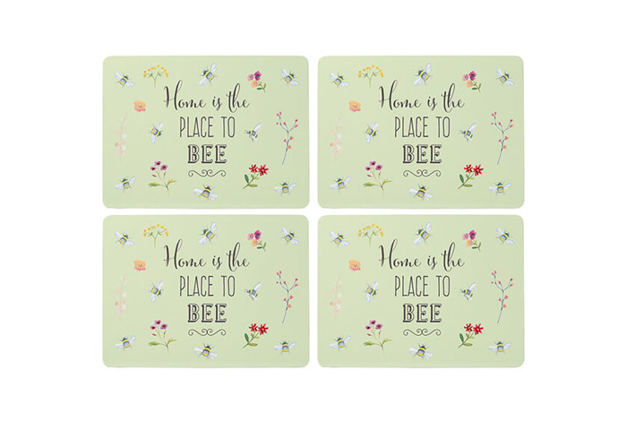 English Tableware Company Bee Happy Set of 4 Placemats - 1
