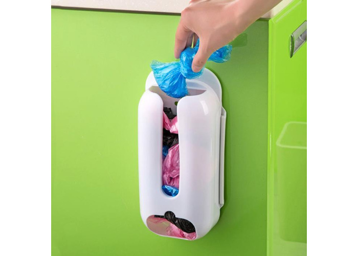 Environment Multi-function Garbage Bag Storage Box Wall Mounted Kitchen Organizer - 1