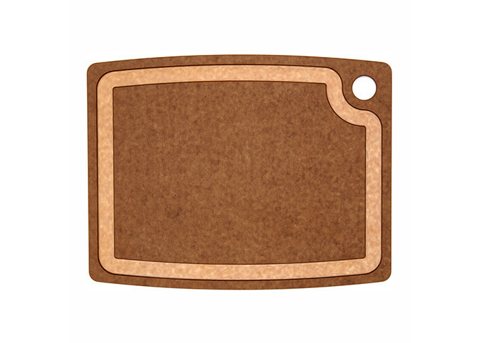Epicurean 14.5 x 11.25-inch Core Groove Chopping Board, Nutmeg Brown - 1