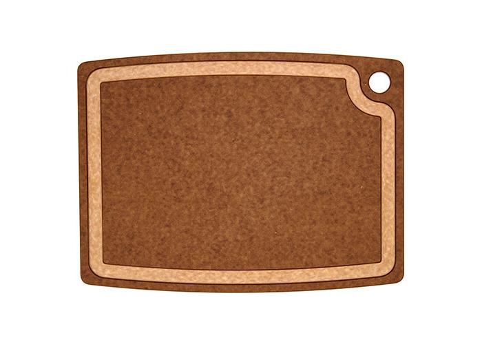 Epicurean 17.5 x 13-inch Core Groove Chopping Board, Nutmeg Brown - 1