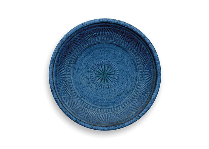Epicurean Artisan 21cm Side Plate With Detail Indigo - 1