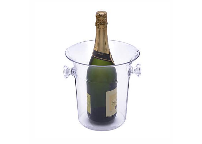 Epicurean Europe 23 x 22 x 18 cm Acrylic SAN Acrylic Champagne Bucket, Clear - 1