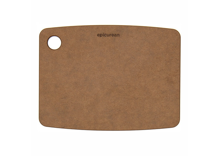 Epicurean Kitchen Series Cutting and Chopping Board, Compressed Wood Composite, 30 x 22.5 x 0.6 cm, Nutmeg Brown - 1