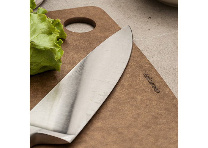 Epicurean Kitchen Series Cutting and Chopping Board, Compressed Wood Composite, 37.5 x 27.5 x 0.6 cm, Nutmeg Brown - 2