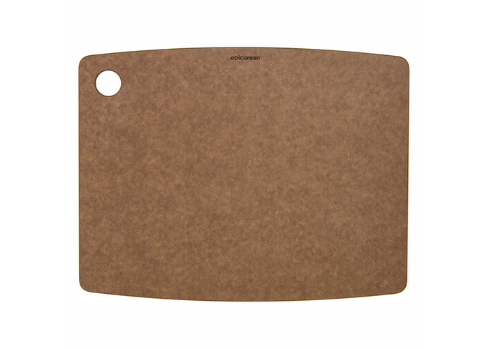 Epicurean Kitchen Series Cutting and Chopping Board, Compressed Wood Composite, 37.5 x 27.5 x 0.6 cm, Nutmeg Brown - 1