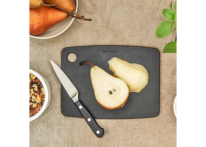 Epicurean Kitchen Series Cutting and Chopping Board, Compressed Wood Composite Black Slate, 20 x 15 x 0.6 cm - 2