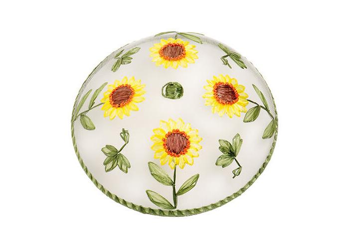 Epicurean Sunflower Pattern Food Cover - 1