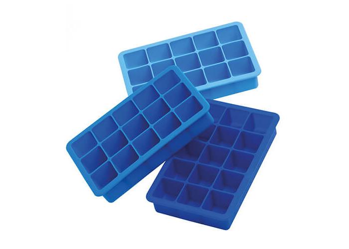 Epicurean Triple Pack Ice Cube Tray Blue - 1