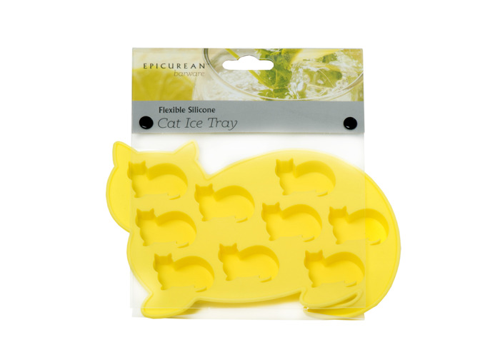 Epicurean Yellow Cat Ice Cube Tray - 1