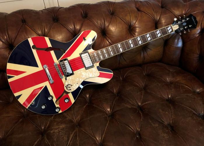 Epiphone Union Jack Supernova - Oasis & Britpop Electric Guitar - 1