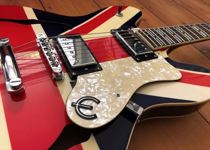 Epiphone Union Jack Supernova - Oasis & Britpop Electric Guitar - 2