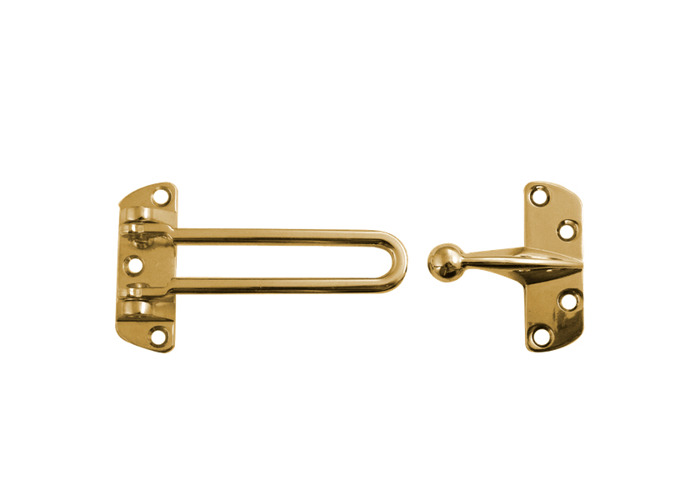 Pack of 1,3,5 Heavy Duty Polished Brass Security Door Restrictor Guard Like ERA