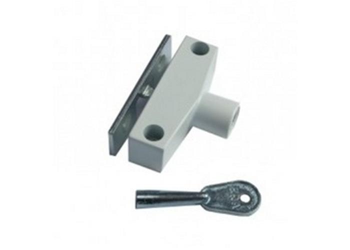 ERA 801-23 Window Snap Lock with Standard Key Brown Pack of 4 - 1