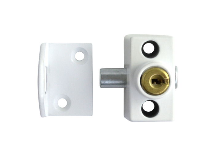 ERA 803 & 804 Sash Window Bolt - WH Cut Key  - 1