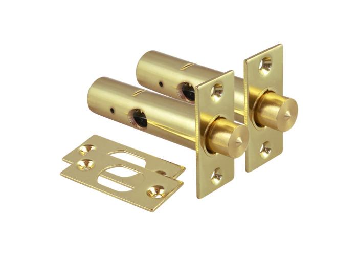 ERA 838 Door Security Bolt - Key - 60mm PB Pair + Key  - 1
