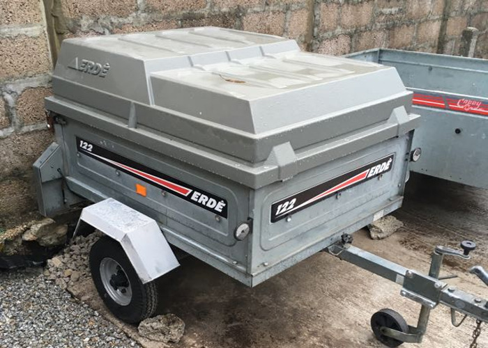ERDE 122 tipping box camping trailer  - 1