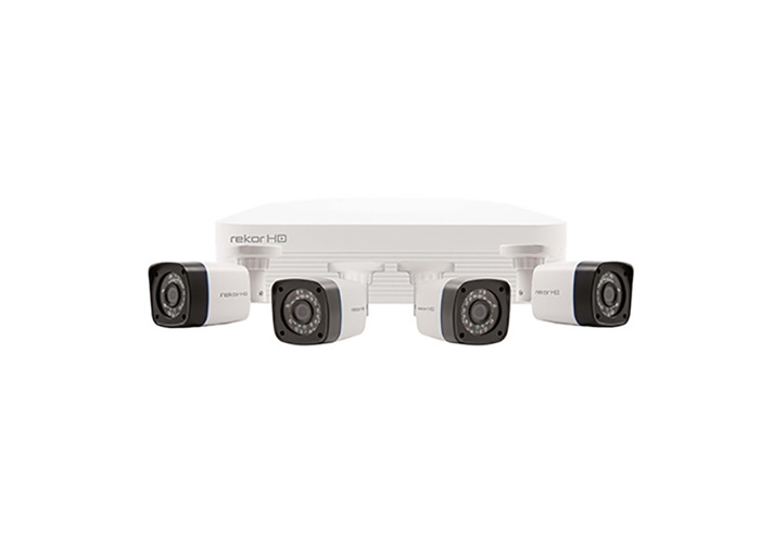 ESP Rekor HD 4 Channel HD CCTV System (White Cameras) - 1