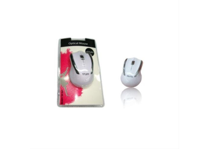 eSTUFF ES3009Optical 1000dpi Optical Mouse 1000DPI White) - 1