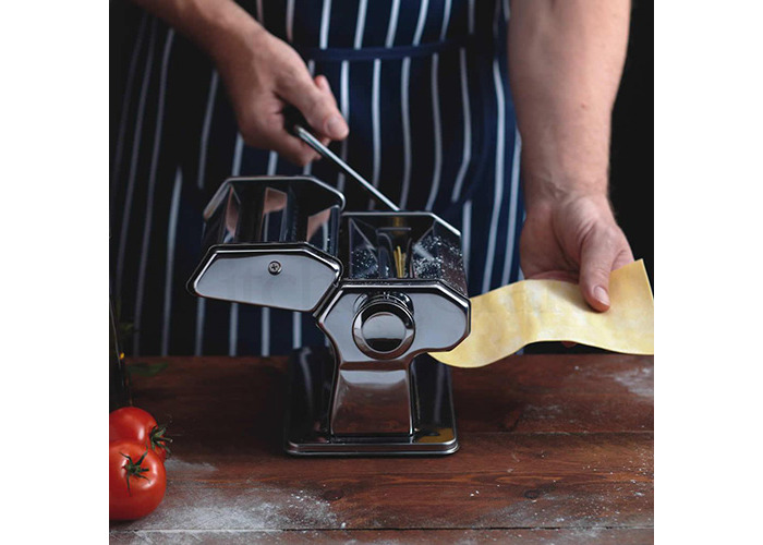 Ethos Stainless Steel Pasta Machine Chrome Plated - 2