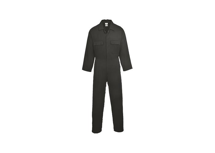 Euro Cotton Boilersuit  Black  XXL  R - 1