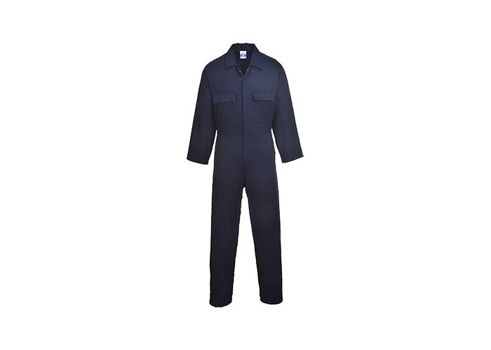 Euro Cotton Boilersuit  Navy  XL  R - 1