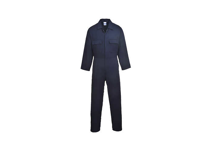 Euro Cotton Boilersuit  Navy  XSmall  R - 1