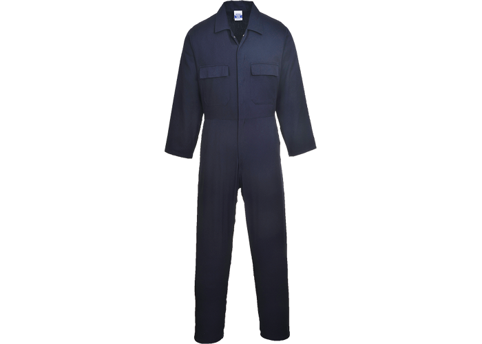 Euro Cotton Boilersuit  Navy T  Medium  T - 1