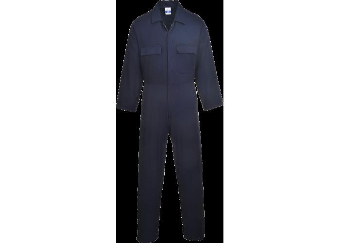 Euro Cotton Boilersuit  Navy T  XL  T - 1