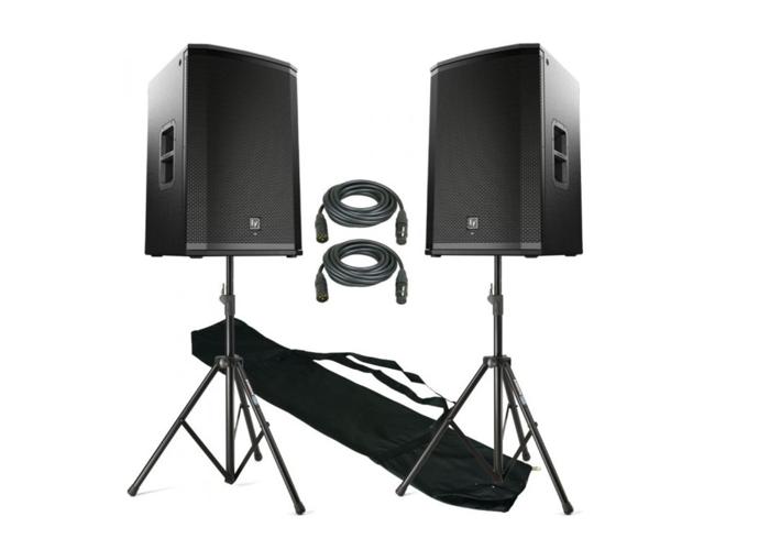 Rent EV ETX 15 Pair - 4KW Active PA Speakers in London