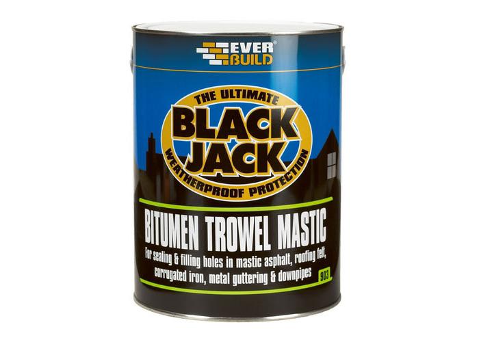 Everbuild 903 Bitumen Trowel Mastic 2.5 Litre - 1