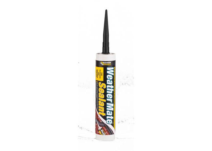 Everbuild Weathermate Sealant Black C3 Tube - 1