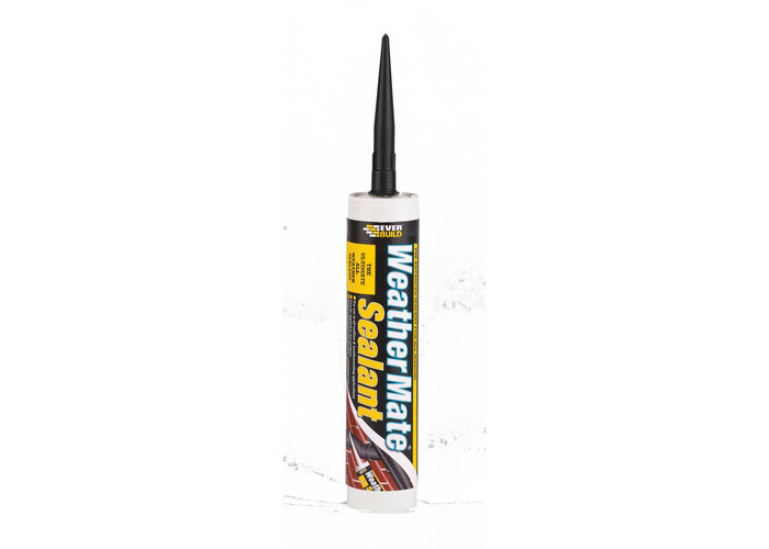 Everbuild Weathermate Sealant Clear C3 Tube - 1