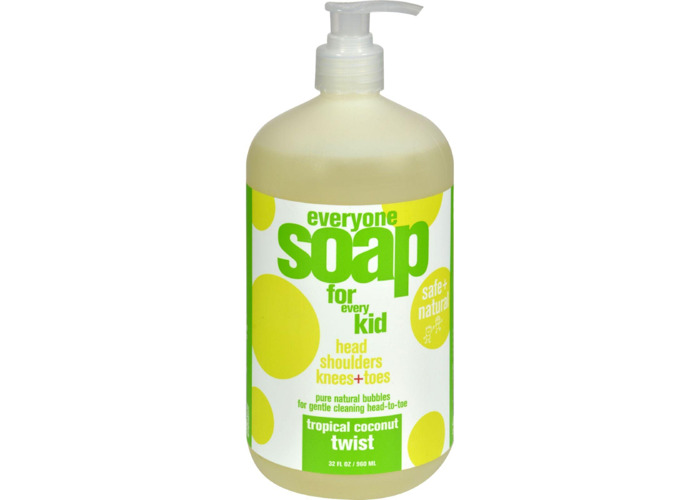 Everyone Soap for Every Kid, Tropical Coconut Twist - EO Products - 2
