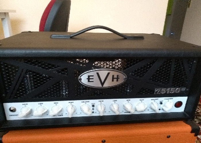 EVH 5150 50w guitar amp head - 1