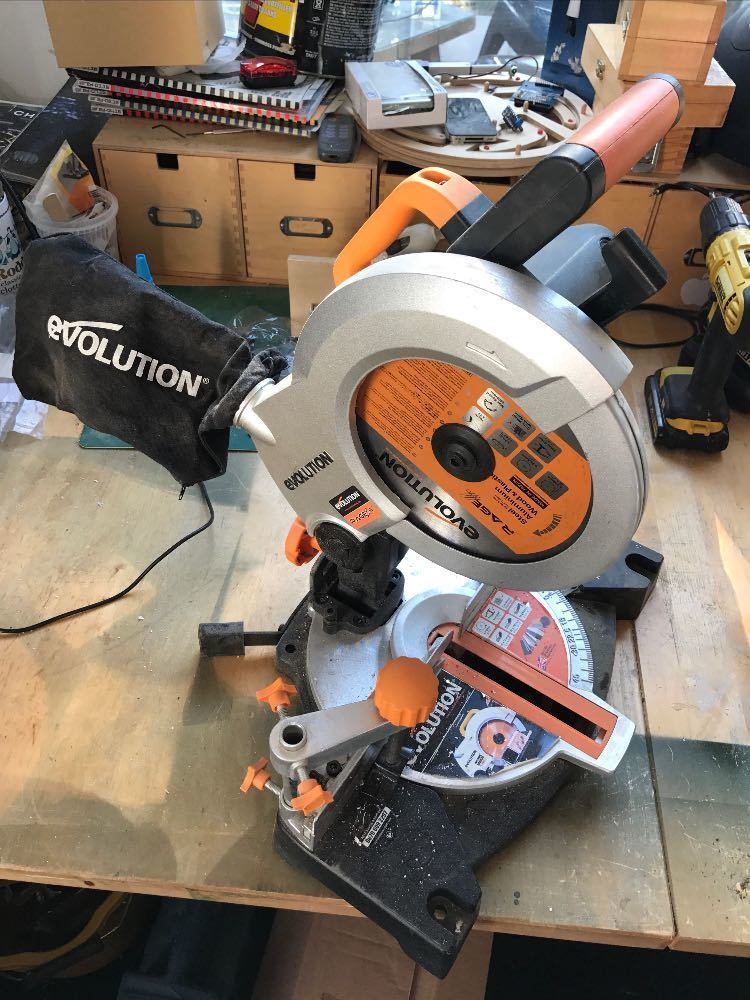 Evolution Chop Saw - 1
