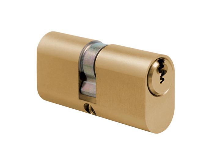 EVVA GPI ODZ Oval Double Cylinder - MK - 72mm 36/36 (31/10/31) MK `AMK1` PB - 1