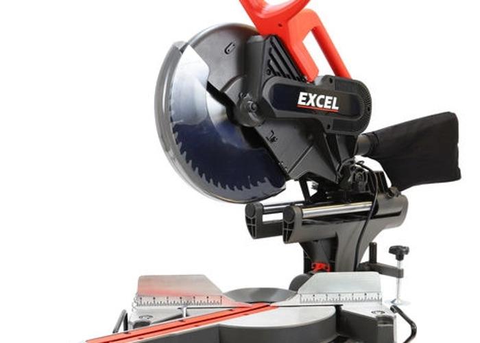 """Excel 12""""/305mm Sliding Mitre Saw - 2"""