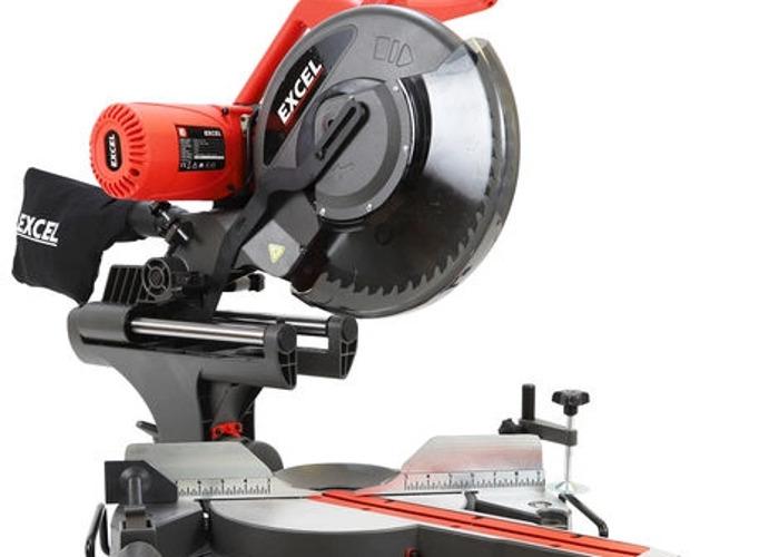 """Excel 12""""/305mm Sliding Mitre Saw - 1"""