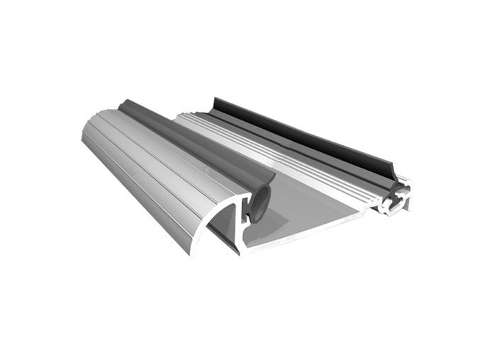 EXITEX Macclex 15/56 Threshold Door Sill For 56mm Doors - Silver - 1