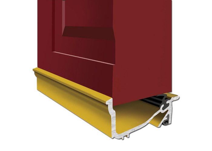 EXITEX Macclex Lowline 20mm Clearance Threshold Door Sill - Gold - 1