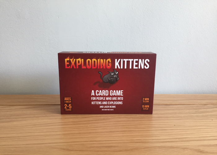 Exploding Kittens Card Game - 1