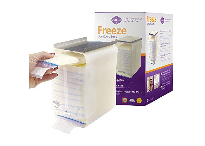 Fairhaven Health Milkies Freeze Organise Your Breastmilk (First in First Out, Store up to 60oz of Milk) - 1