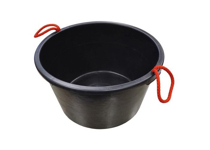 Faithfull FAI40LBUCKET Builders Bucket Black 40 Litre (9 Gall) - 1