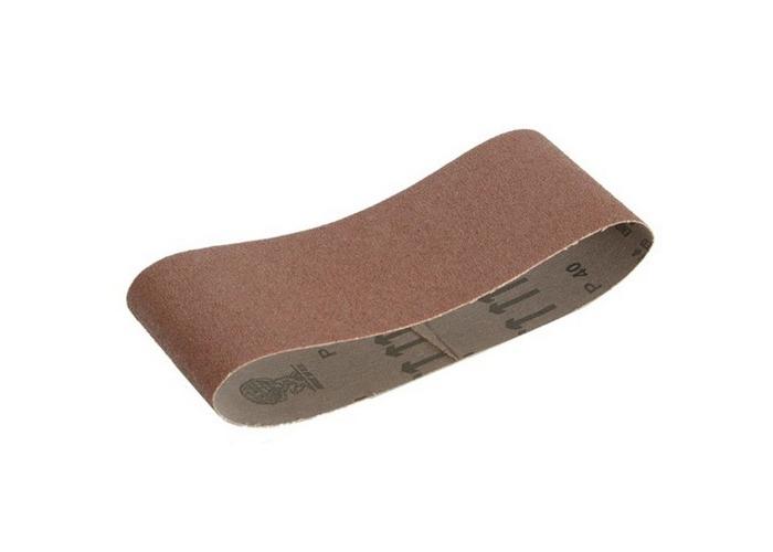 Faithfull FAIAB75457F Cloth Sanding Belt 457 x 75mm 120g (Pack of 3) - 1