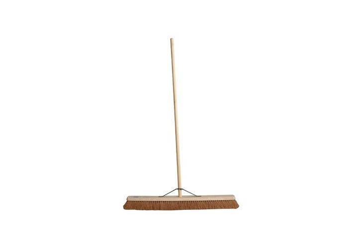Faithfull FAIBRCOCO36H Broom Soft Coco 90cm (36 In) + Handle & Stay - 1