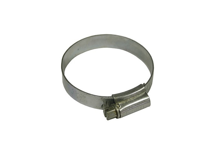 Faithfull FAIHC2ASSB 2A Stainless Steel Hose Clip 35 - 50mm - 1